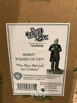 Jim Shore Wizard of Oz Man Behind the Curtain Retired RARE 4049677
