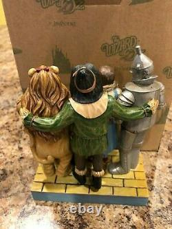 Jim Shore Wizard of Oz Wonderful Adventure Lion Tin Man NRFB Retired 4045414