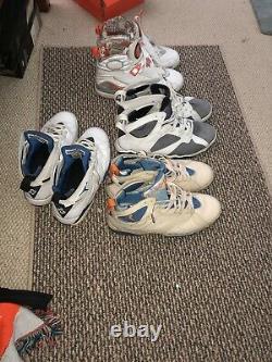 Jordan retro bundle (beaters) Flint 7, Pearl 7, Magic 7, Stealth 8