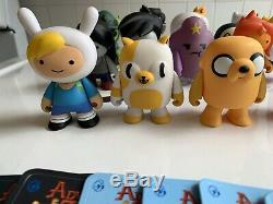 Kidrobot Adventure Time Series 1 Complete Full Set Abe Magic Man Lich Chase Finn