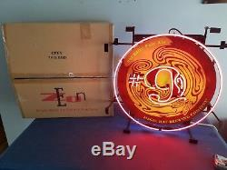 (L@@K) magic hat #9 pale ale Beer Neon light up sign bar game room man cave mib