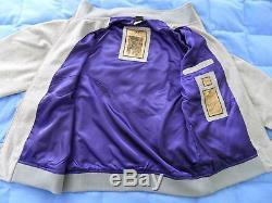 LIMITED ED205 of 500Adidas LAKER MAGIC JOHNSON Basketball Jacket jerseyMen XL