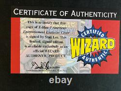 LOOK! NO RESERVE! Flashback The X-Men #-1 STAN LEE AUTOGRAPH/signed Wizard COA