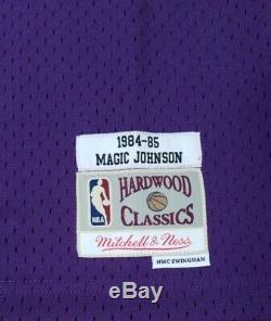 Los Angeles Lakers Magic Johnson Mitchell & Ness Swingman Jersey