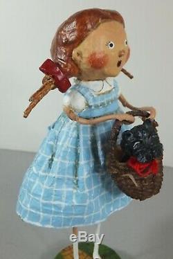 Lot of Lori Mitchell Wizard of Oz Figurines Dorothy Tin Man Scarecrow Witches