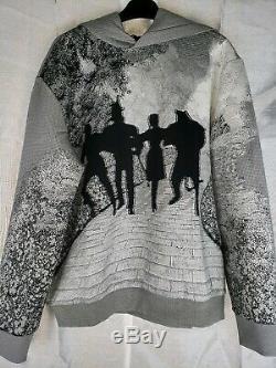 Louis Vuitton Brick Road Jacquard Hoodie Sweatshirt Mens Large Wizard of Oz