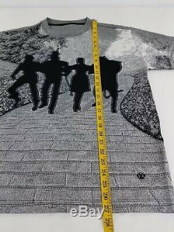 Louis Vuitton Men's Tee Brick Road Jacquard Wizard of Oz Virgil Abloh Size L