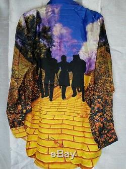 Louis Vuitton Mens Silk Wizard of Oz Dress Shirt Button-Down Virgil Abloh Large