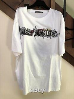Louis Vuitton (Ultra Rare) Runway Virgil Abloh Ss19 Wizard Oz Spiral T-Shirt XL