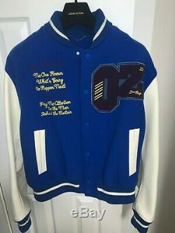 Louis Vuitton Virgil Abloh Wizard of Oz Mens Varsity Jacket