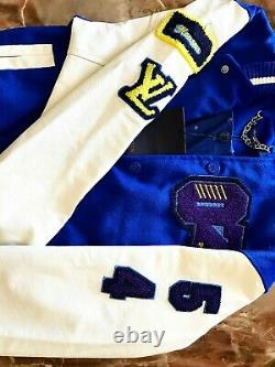 Louis Vuitton Wizard Of Oz Varsity Lv Virgil Abloh Monogram Jacket