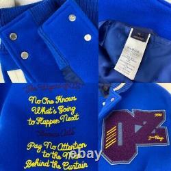 Louis Vuitton Wizard of Oz Mens Varsity Jacket SS19 Virgil Abloh Size52 New A730