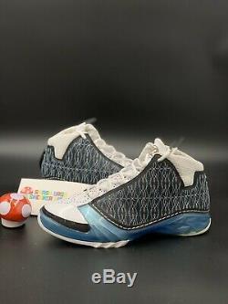 MENS Nike Air Jordan 23 XX3 UNC Titanium Sz 10.5 Wizard Retro XI XII 3 4 OG Max