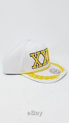 MITCHELL & NESS Bruno Mars 24k Magic Concert Tour Men's Adult White Snapback Hat