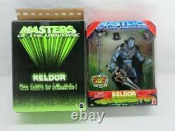 MOTU, KELDOR, 200X, Exclusive 2003, MOC, MISB, sealed, Masters Of The Universe, He Man