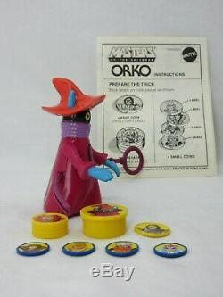 MOTU, Vintage, ORKO, Masters of the Universe, 100% complete, Magic Trick, he man