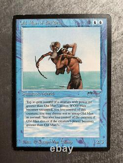MTG Magic the Gathering Old Man of the Sea Arabian Nights Reserved List