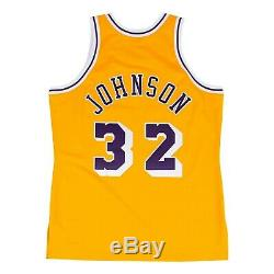 Magic Johnson 1984-85 Authentic Jersey Los Angeles Lakers Mitchell and Ness L