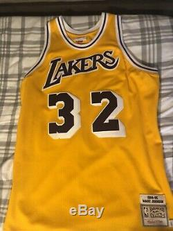 Magic Johnson Lakers Mitchell & Ness Authentic Jersey Size L Mens