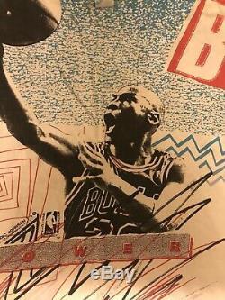 Magic Johnson T's Michael Jordan T-Shirt Air Jumpman Retro Vtg Bulls NBA XL