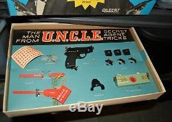 Man From U. N. C. L. E. UNCLE Spy Magic Tricks set MIB vintage 1966 Gilbert IDEAL