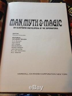 Man, Myth & Magic-24 Volumes-encyclopedia Of The Supernatural