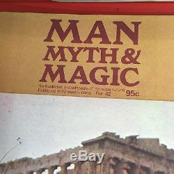 Man, Myth & Magic Huge Lot 4 Binders, 13 Volumes, and 15 Loose Issues