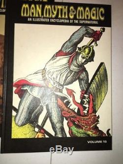 Man, Myth & Magic Illustrated Encyclopedia of the Supernatural 24 Vols-Complete
