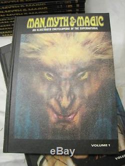 Man Myth & Magic Illustrated Encyclopedia of the Supernatural Books Encyclopedia