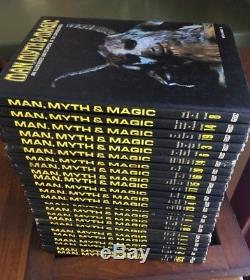 Man Myth & Magic Illustrated Encyclopedia of the Supernatural Complete Set of 24
