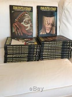 Man, Myth, & Magic Rare Illustrated Encyclopedia 24 Book Set incomplete