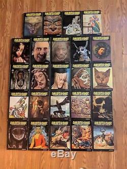 Man Myth and Magic Illustrated Encyclopedia 24 vol Set (1970. Hardback)