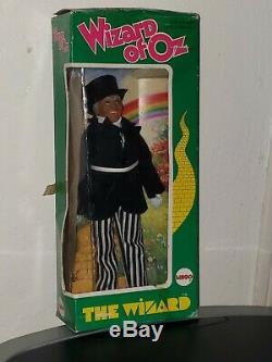 Mego Vintage 1974 Wizard of Oz Set 6 withboxes Original Dorothy Tin Man Scarecrow