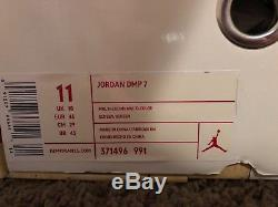 Mens Air Jordan DMP Retro 7 VII Package Magic Raptors Size 11 Authentic