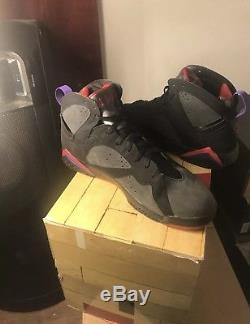 Mens Air Jordan DMP Retro 7 VII Package Magic Raptors Size 13 Authentic