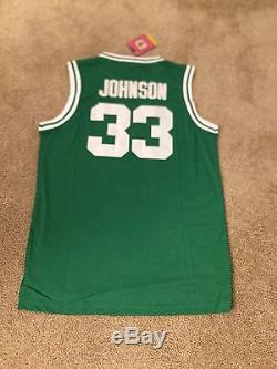 Mens Large Vintage Magic Johnson 1978 Michigan State Spartans Basketball Jersey