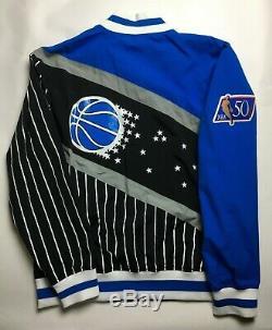 Mens Mitchell & Ness NBA 1996-97 Authentic Warm Up Jacket Orlando Magic