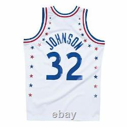 Mens Mitchell & Ness NBA Magic Johnson 1983 All Star West Authentic Jersey