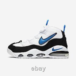 Mens Nike Air Max Uptempo 95 Orlando Magic Size-9.5 White Blue (CK0892 103)