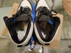 Mens Nike Dunk High Sail white Black Royal Orlando Magic SB Size 10.5 EUC