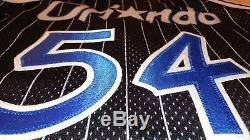 Mens Vintage Champion Authentic NBA Jersey Size 48 in Orlando Magic Mint Condit