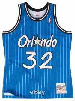 Mitchell Ness 1994 Orlando Magic Shaquille O'neal Blue Authentic Jersey Large 44