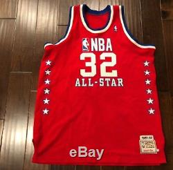 ecbee98c60e Mitchell Ness M N Authentic LA Lakers Magic Johnson All-Star Jersey Mens 52