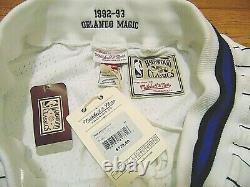 Mitchell & Ness Nba Hwc Orlando Magic White 1992-93 Authentic Shorts Size 48 XL