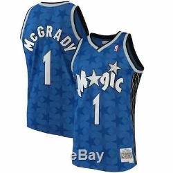 Mitchell & Ness Tracy McGrady 2001-02 Orlando Magic Blue Swingman Jersey 3XL