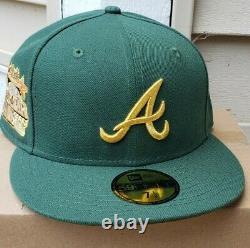 MyFitteds Atlanta Braves Magic Treehouse 7 1/2 RARE not Hat Club