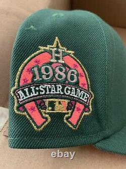 MyFitteds Exclusive Houston Astros Magic Treehouse New Era 1986 ASG Size 7 1/4