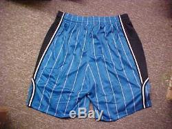 NBA 2010-11 Orlando Magic Road Blue Team Issued Game Shorts Adidas Size 5XL+4