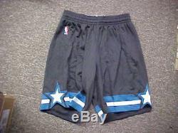 NBA 2016-17 Orlando Magic Alternate Team Issued Game Shorts Adidas Size 4XL+4