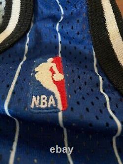 NBA Anfernee Penny Hardaway Champion Authentic Orlando Magic Jersey Size 48 XL